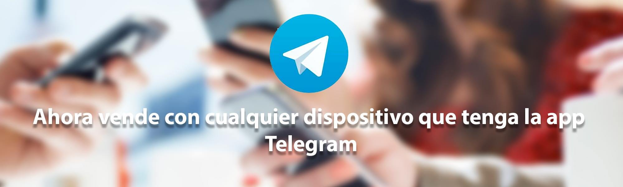 venta de tiempo aire por app telegram
